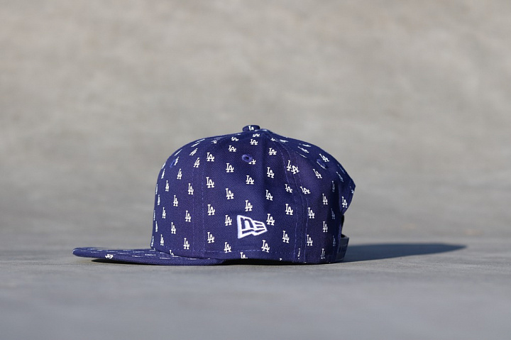 9FIFTY LA Dodgers All-over-print Navy Child (1)