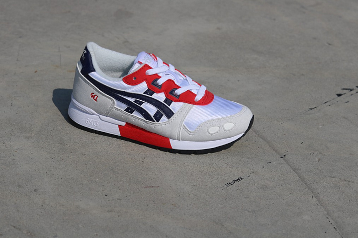 Gel-lyte White/Red/Navy PS (1)