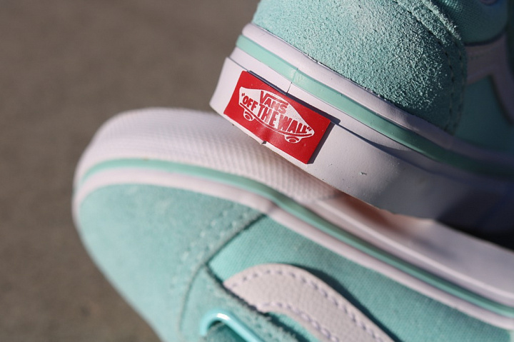 Old skool Mint/White TS (6)