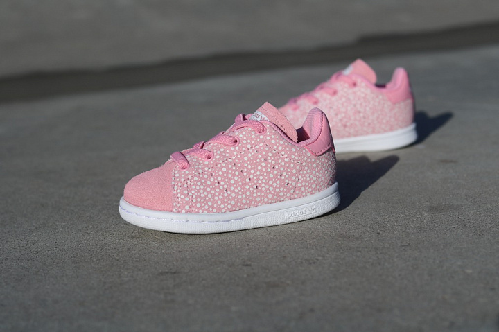 Stan smith Glow/Spikkels Pink TS (1)