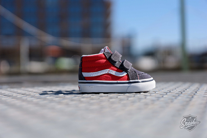 Sk8-mid Red/Grey TS (3)