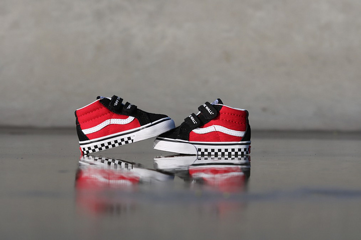 Sk8-mid Reissue Red/Black Checker TS (4)