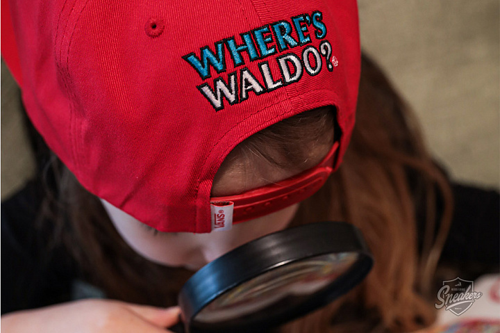 X Where's Waldo? 5-Panel Snapback Racing Red Child (0)