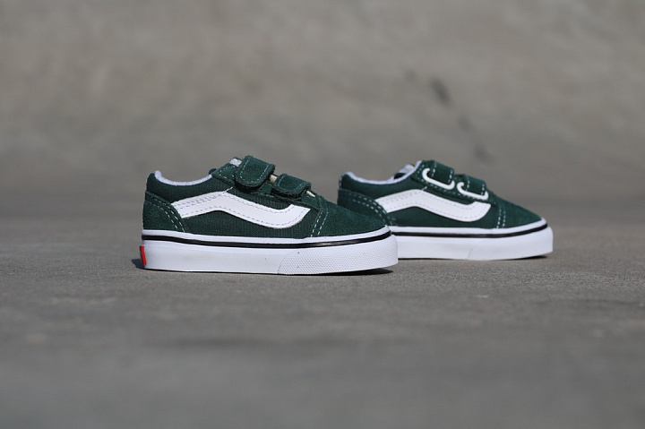 Old skool Green/White TS (0)