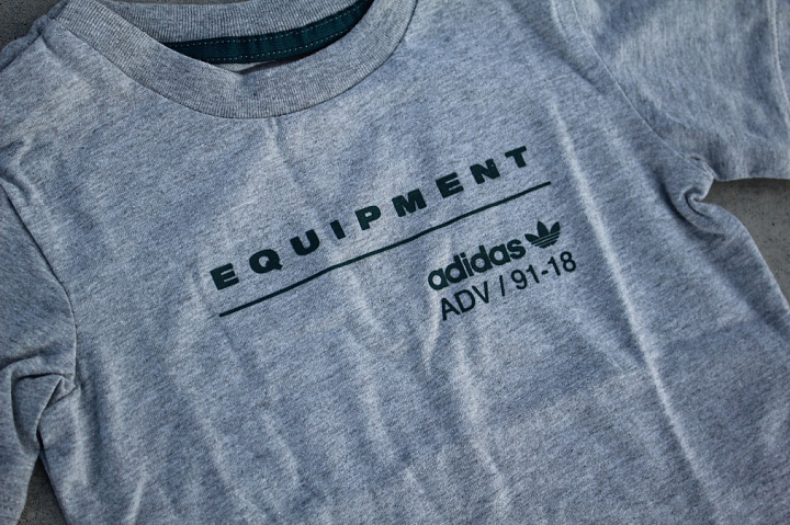 Set EQT Tee/Pants Grey/Black (3)