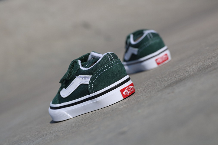 Old skool Green/White TS (2)