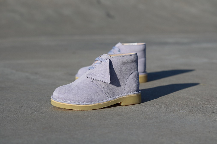 Desert boot cool blue suede TS (0)