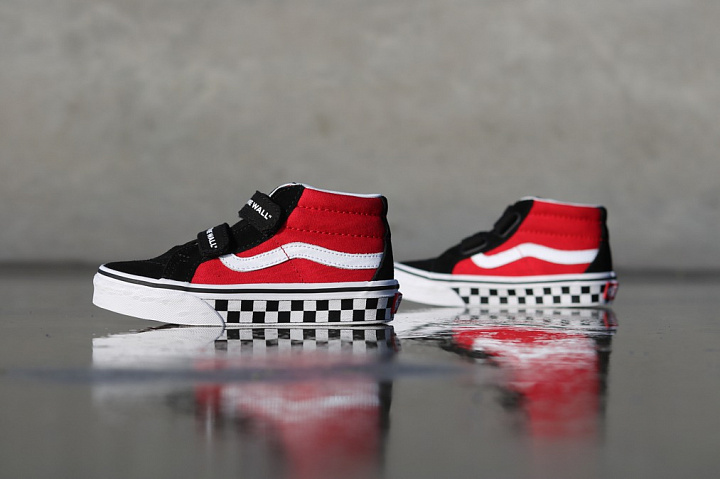 Sk8-mid Reissue Red/Black Checker PS (0)