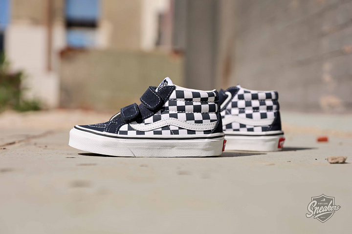 Sk8-Mid Checkerboard/Navy PS (0)
