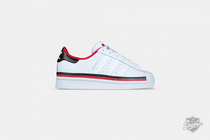 Superstar Cloud White Red Core Black GS (0)