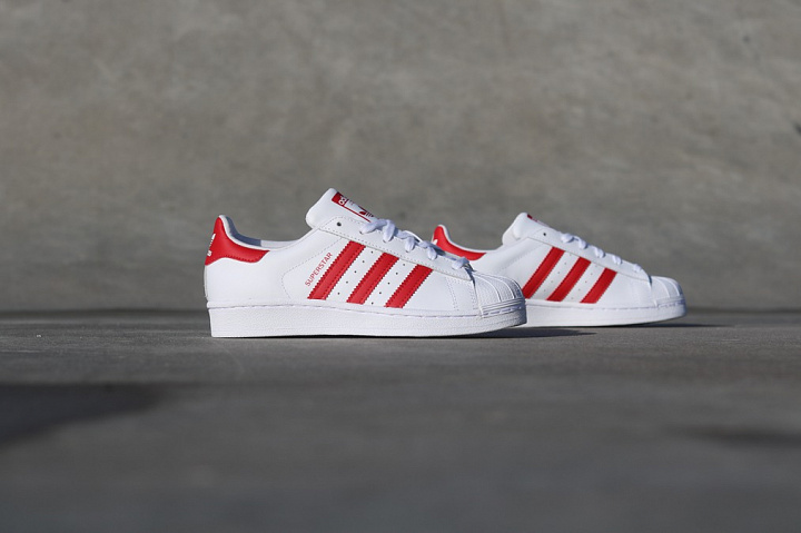 Superstar White/Red GS (3)