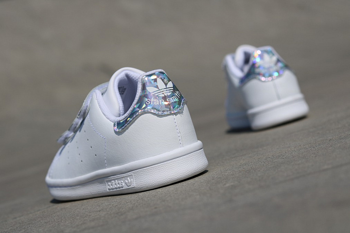 Stan Smith White/Metsil Velcro PS (3)