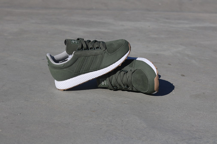 Forest grove green/suede kids (2)