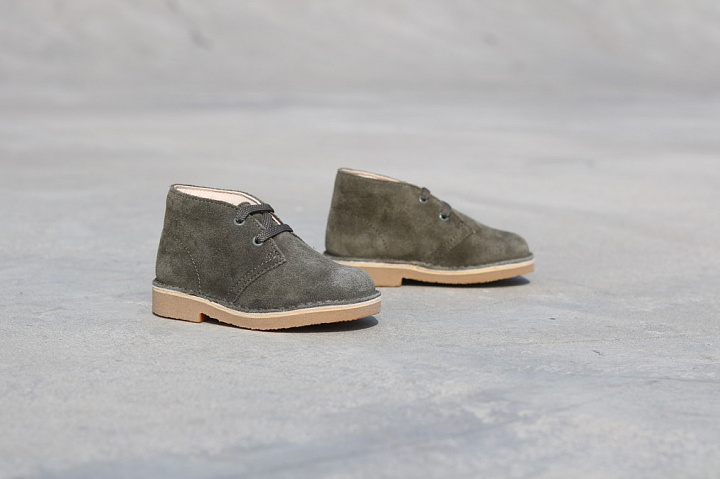 Desert Boot Olive Suede TS  (2)