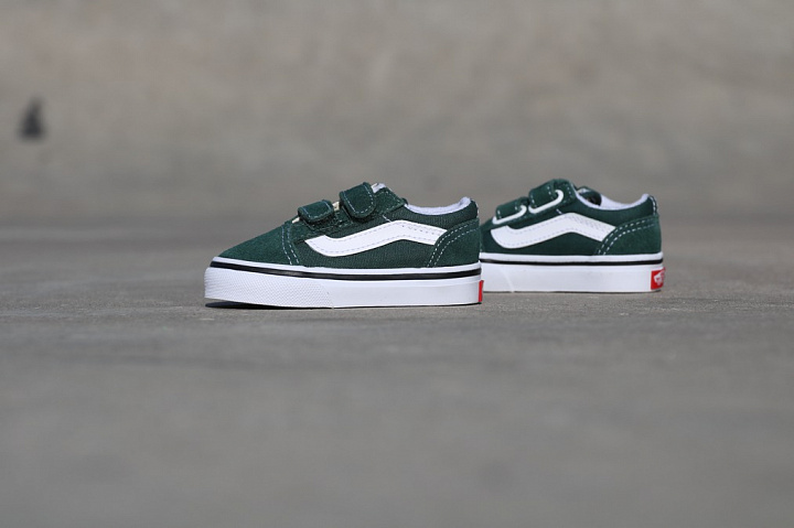 Old skool Green/White TS (3)