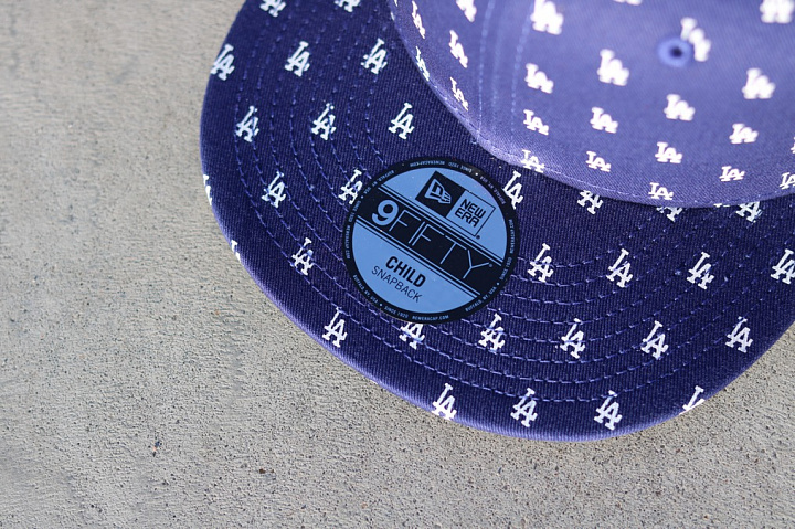9FIFTY LA Dodgers All-over-print Navy Child (3)