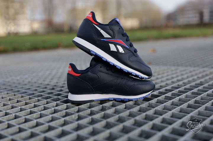 Classic Leather Navy/Red PS (2)