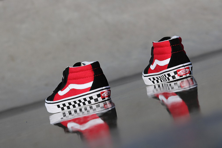 Sk8-mid Reissue Red/Black Checker PS (5)