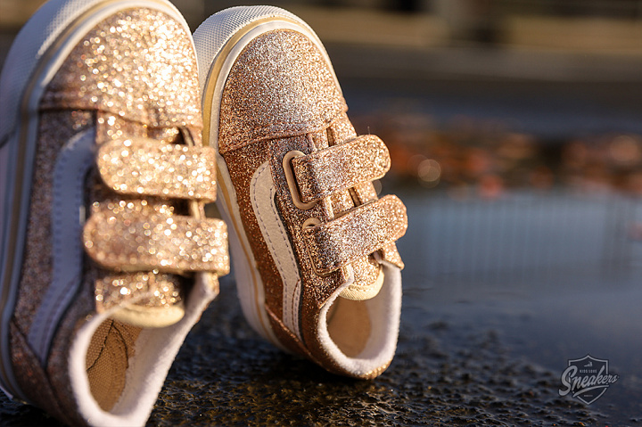 Old Skool V Glitter Brazilian Sand True White TD (1)