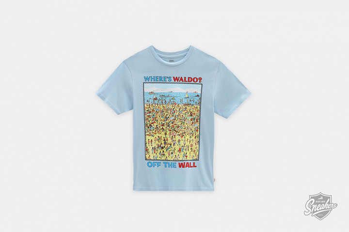 X Where's Waldo? Beach T-shirt Find Steve GS (0)
