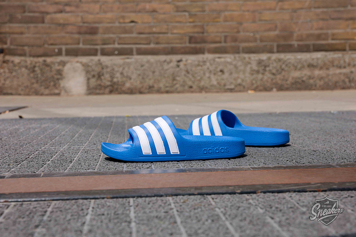 Adilette aqua blue white ps (0)