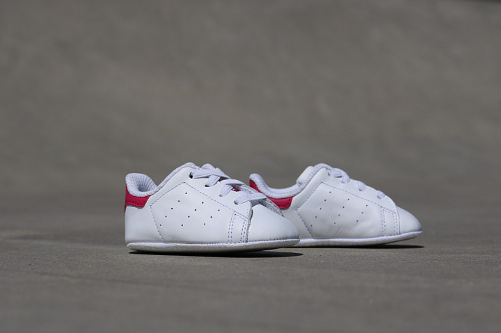 Stan smith White/Pink Crib (2)
