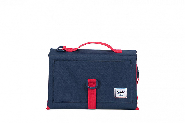 Sprout change mat navy/red (1)