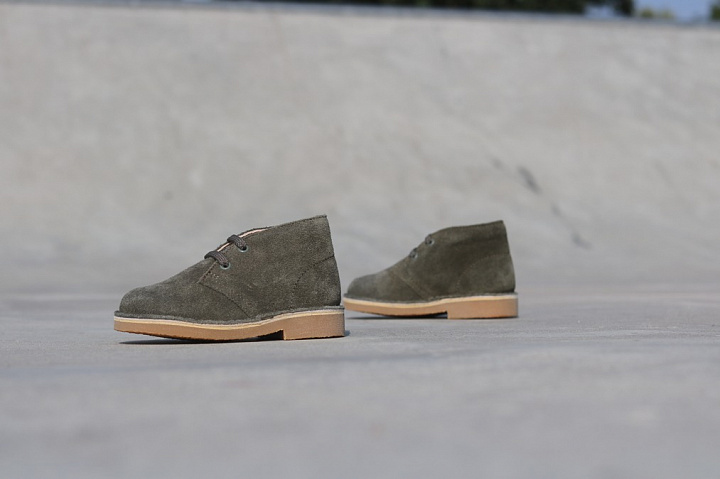 Desert Boot Olive Suede TS  (0)