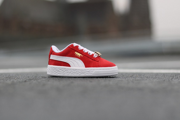 Suede classic bboy red-flame (5)