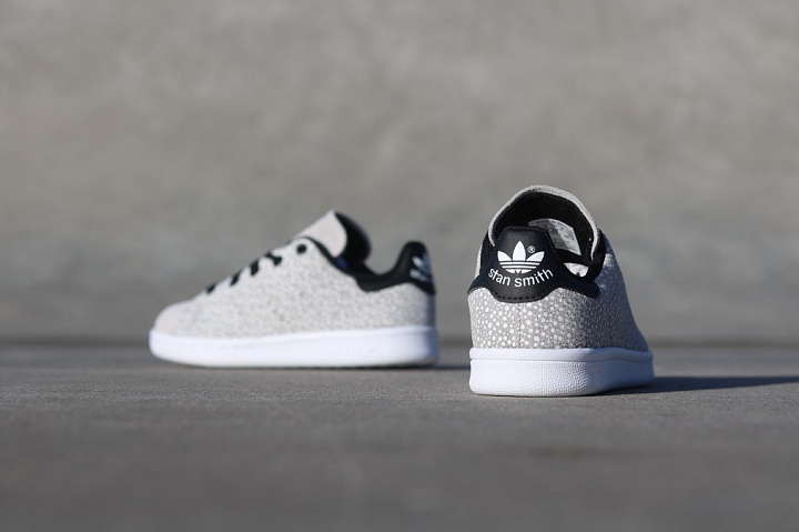 Stan smith Glow/Speckle Grey PS (1)