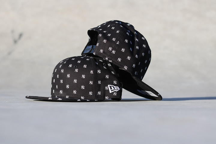9FIFTY NY Yankees Logo's Black Youth (2)