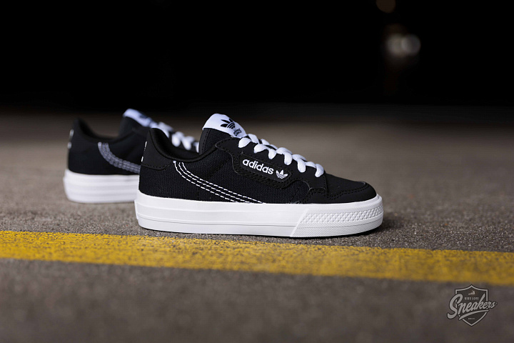 Continental Vulc Black/White PS (1)