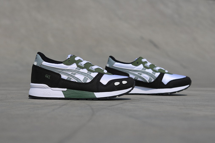 Gel-lyte White/Army Green PS (1)