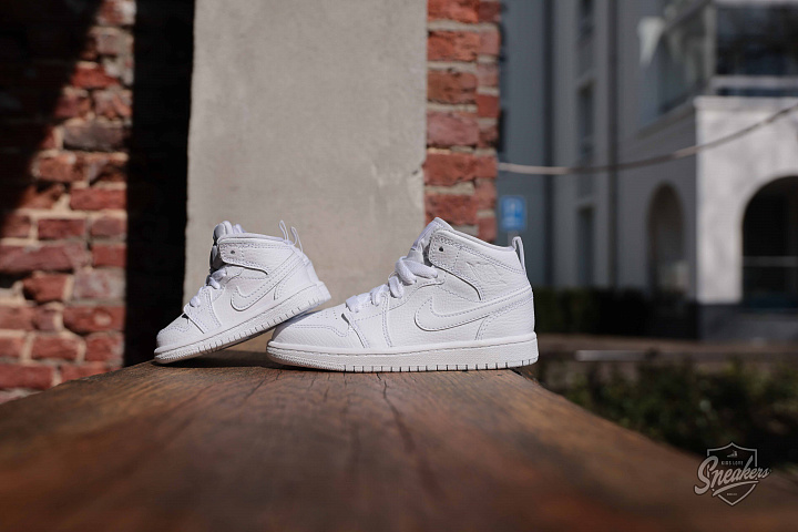 Jordan 1 mid white PS (6)