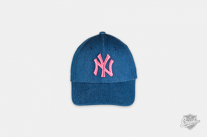 New York Yankees 9FORTY Wash Denim Pink Child (0)