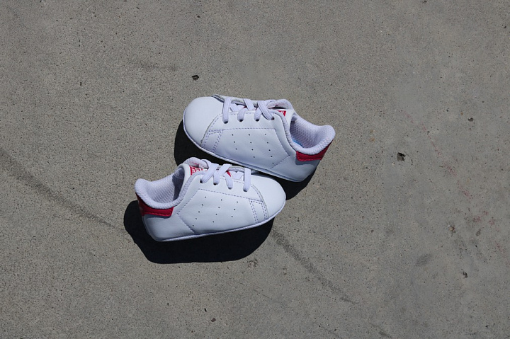 Stan smith White/Pink Crib (3)